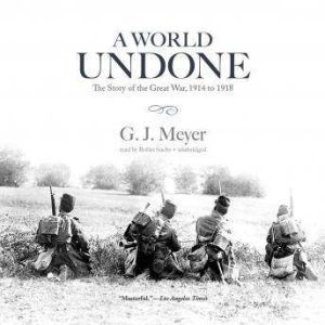 A World Undone The Story of the Great War, 1914 to 1918, G. J. Meyer