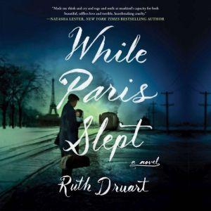 While Paris Slept A Novel, Ruth Druart
