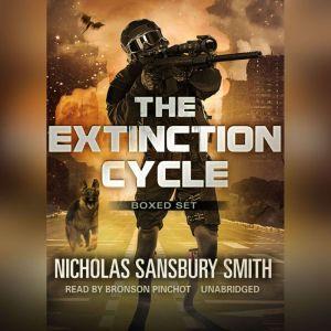 The Extinction Cycle Boxed Set, Books 46: Extinction Evolution, Extinction End, and Extinction Aftermath, Nicholas Sansbury Smith